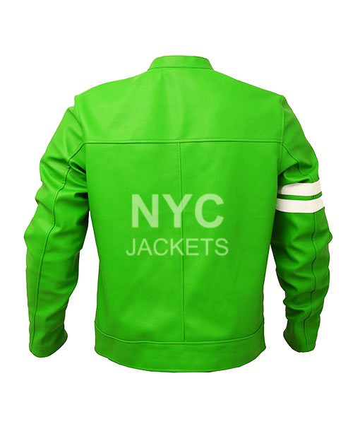 Men's Ben 10 Slim Fit Leather Jacket