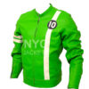 Men's Ben 10 Slim Fit Leather Jacket Right