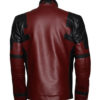 Ryan Reynolds Deadpool Leather Jacket BAck