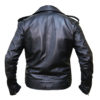 The Walking Dead Negan Leather Jacket Back
