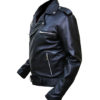 The Walking Dead Negan Leather Jacket Right