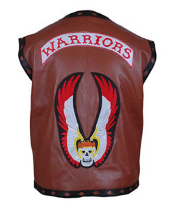 The Warrior Vest Leather Jacket