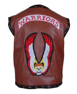The Warrior Vest Leather Jacket