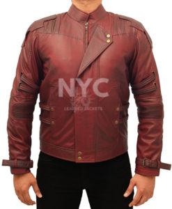 Guardians of the Galaxy Chris Pratt Jacket Front