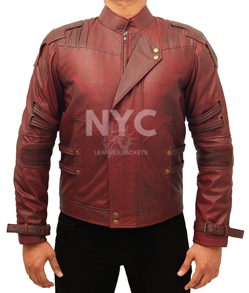 Guardians of the Galaxy Chris Pratt Jacket Front