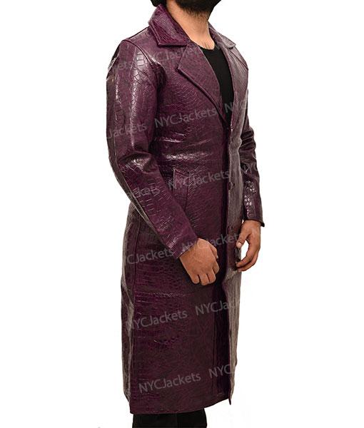 Jared Leto's Joker Crocodile Coat