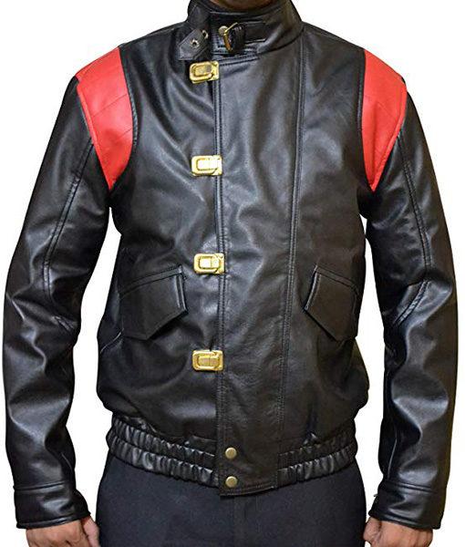Akira Capsule Black Leather Jacket
