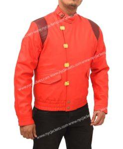 Akira Kaneda Red Capsule Leather Jacket
