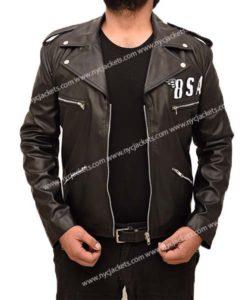 BSA George Michael Black Biker Jacket