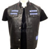 Charlie Hunnam Sons of Anarchy Leather Vest