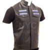 Charlie Hunnam Sons of Anarchy Leather Vest Let