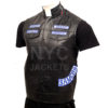 Charlie Hunnam Sons of Anarchy Leather Vest Right