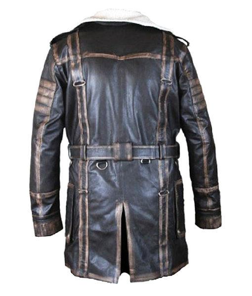 Elder Maxson Leather Jacket Coat