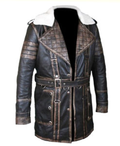 Elder Maxson Leather Jacket Coat