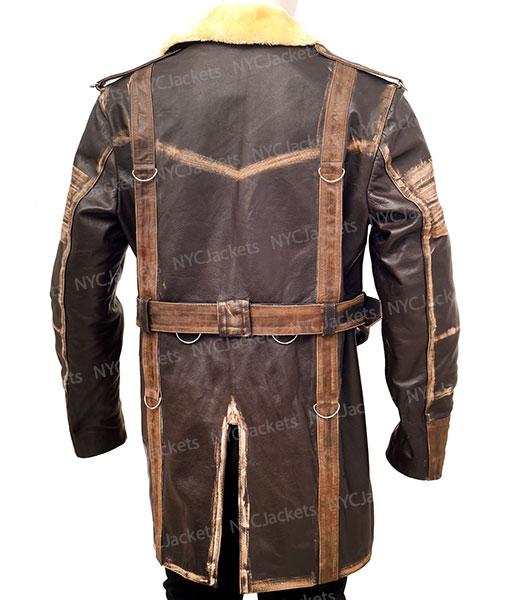 Fallout 4 Elder Maxson Battle Shearling Coat
