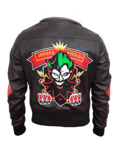 Harley Quinn Suicide Squad's Bomber Leather Jacket