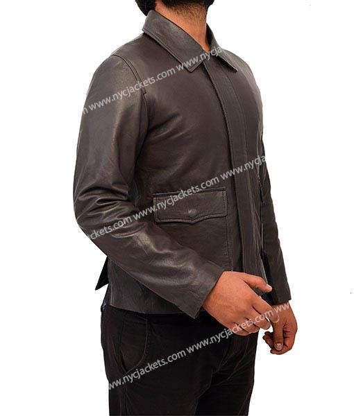 Indiana Jones Harrison Ford Genuine Leather Jacket