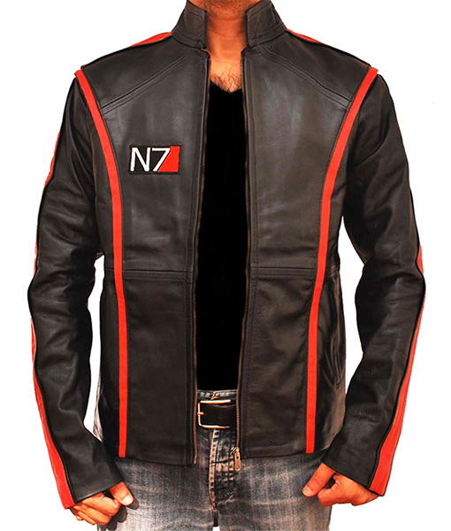 Mass Effect N7 Leather Jacket