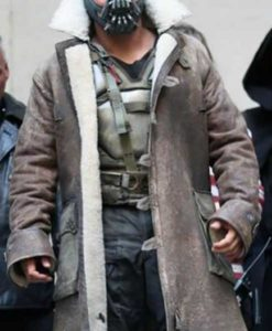The Dark Knight Rises Bane Distressed Coat