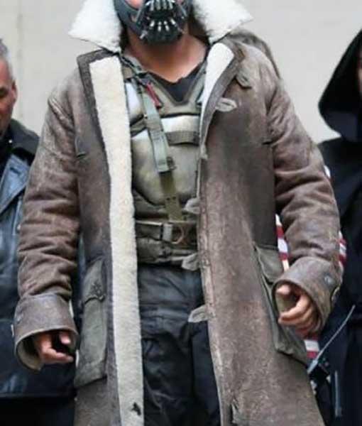 The Dark Knight Rises Bane Distressed Coat