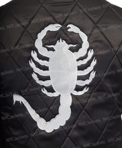 Ryan Gosling Drive Scorpion Black Jacket