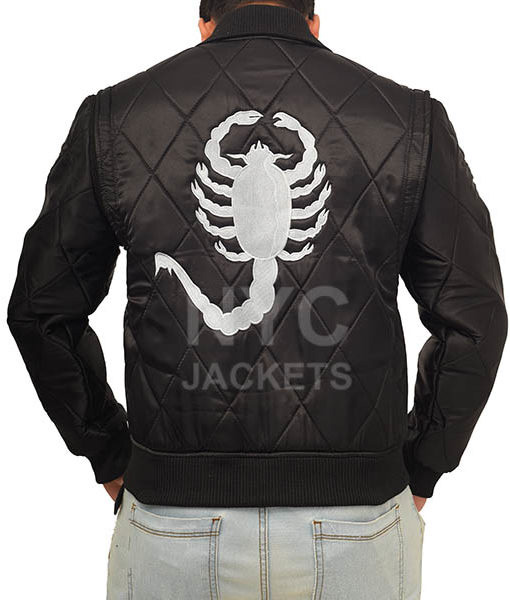 Ryan Gosling Drive Scorpion Black Jacket