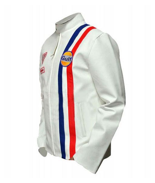 Steve McQueen White Le Mans Jacket