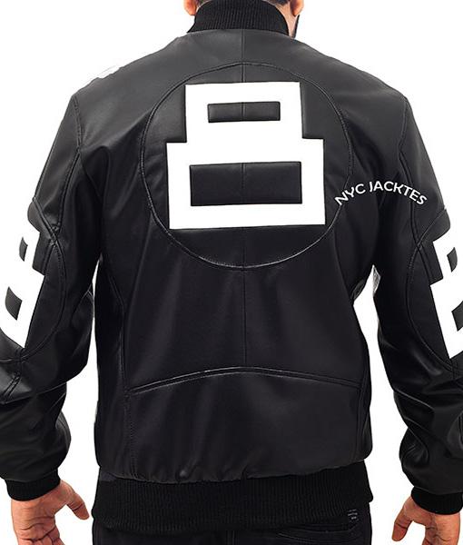 8-Ball-David-Puddy-Black-Leather-Jacket-Back