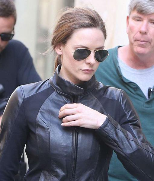 Rebecca Ferguson Mi6 Fall Out Black Jacket