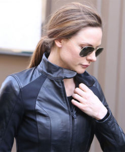 Rebecca Ferguson Mi6 Fall Out Black Jacket