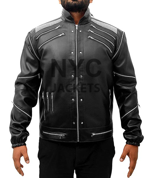 how to orders world-wide renown rational construction Michael Jackson Beat It Leather Jacket in Black