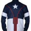 Avengers Age of Ultron Captain America Jacket Back