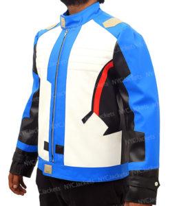Soldier 76 Biker Leather Jacket