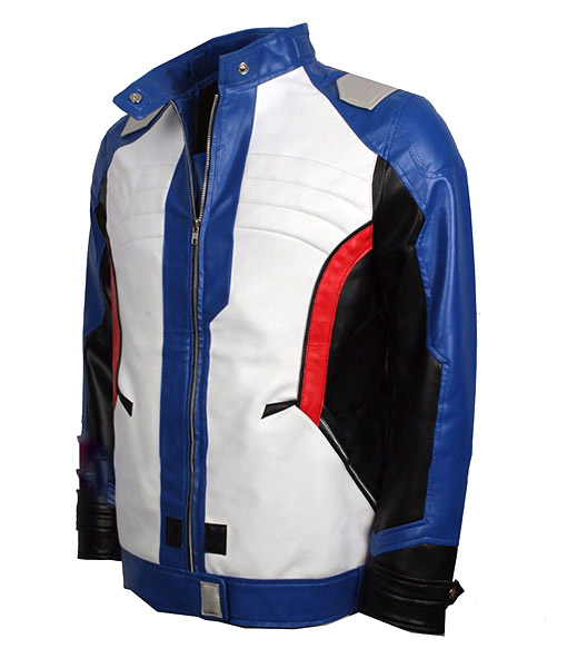 Soldier 76 Leather Jacket
