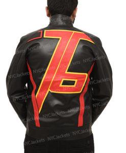 Soldier 76 Black Biker Jacket
