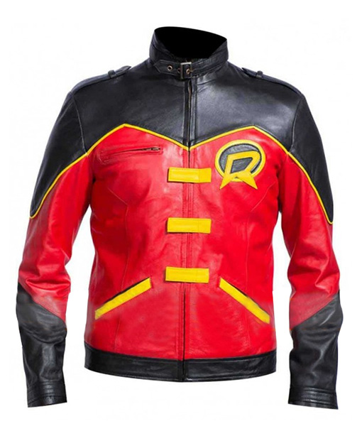 Batman-Robin-(Tim-Drake)-Red-&-Black-Jacket-Front