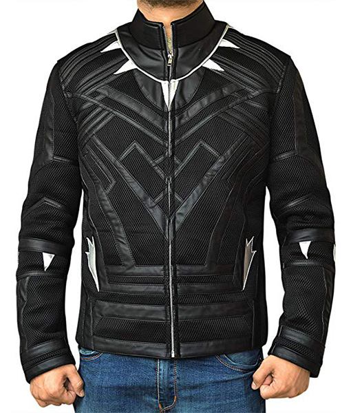 Black-Panther-Leather-Jacket-Front