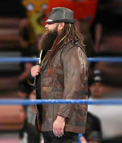 Bray Wyatt Leather Jacket