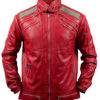 Michael-Jackson-Beat-It-Leather-Jacket-in-Red-Front