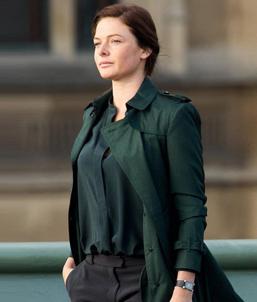 Mission Impossible 5 Rebecca Ferguson Coat