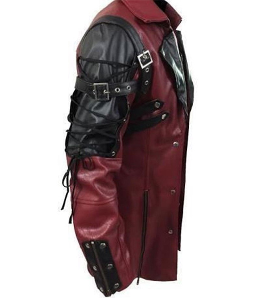Punk Rave Poison Cosplay Leather Coat