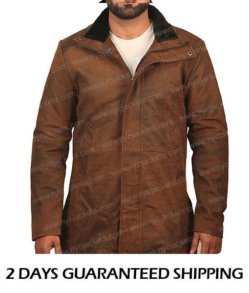 Sheriff Walt Longmire Trench Coat