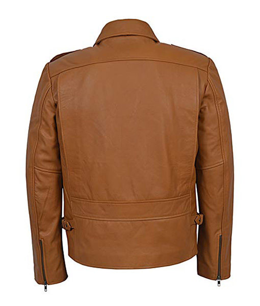 The Rocketeer Movie Billy Campbell (Cliff) Brown Jacket