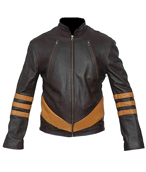 X Men Origins Hugh Jackman Wolverine Leather Jacket