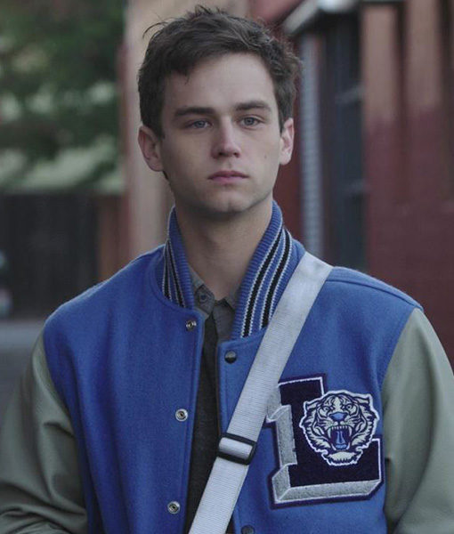 13 Reasons Why Justin Foley Letterman Jacket