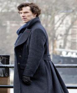 Sherlock Benedict Cumberbatch Trench Coat - Copy