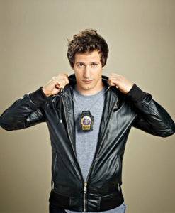 Brooklyn Nine Nine Andy Samberg Bomber Leather Jacket