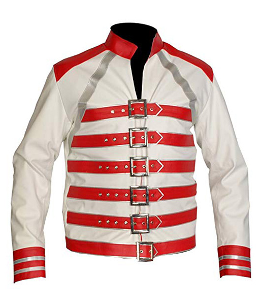Freddie-Mercury-White-Red-Concert-Leather-Jacket-Front