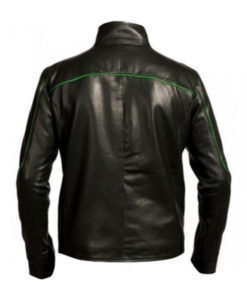 Green Lantern Leather Jacket
