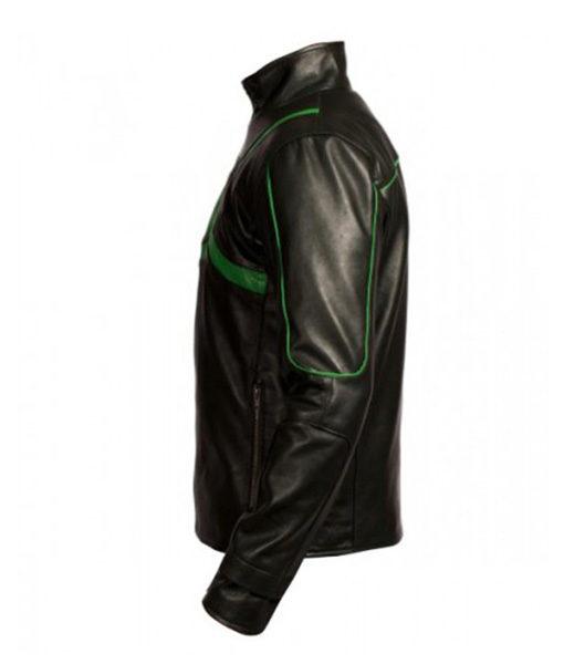 Green Lantern Leather Jacket